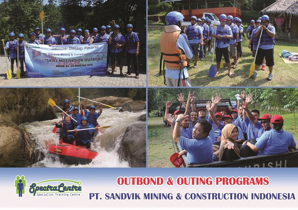 Outbond and Outing PT. Sandvik Mining & Construction Indonesia
